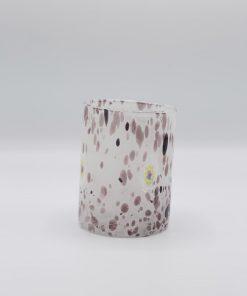 Plutone bicchiere ametista Murano grande